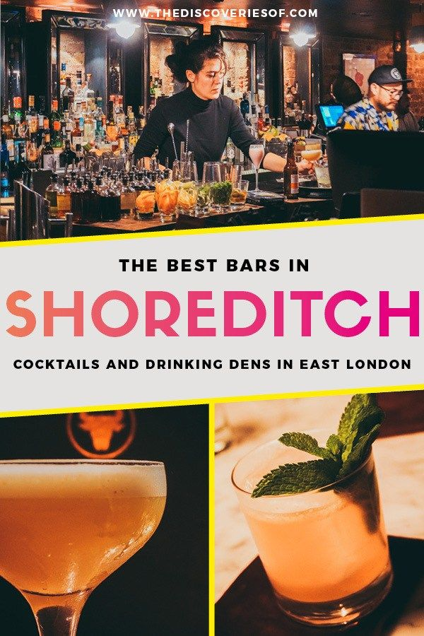 Shoreditch Bars: Cool Bars In Shoreditch For Cocktails + Quirky Nights Out