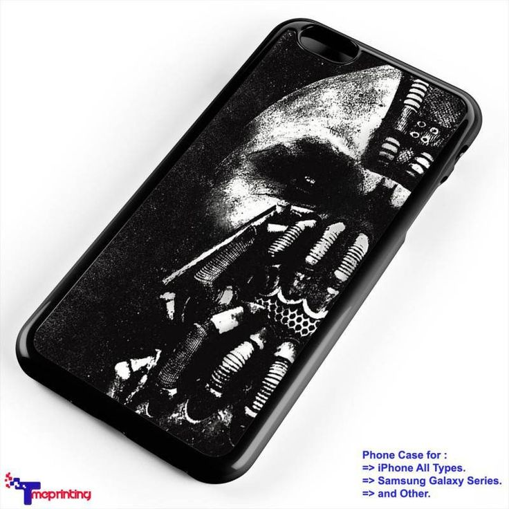 Bane Batman The Dark Knight Rises - Personalized iPhone 7 Case, iPhone 6/6S Plus, 5 5S SE, 7S Plus, Samsung Galaxy S5 S6 S7 S8 Case, and Other