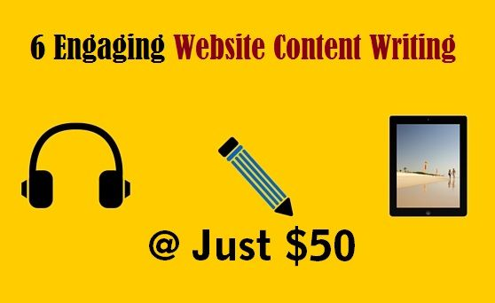 6 Engaging #Website #ContentWriting at Just $50 – #content ##ContentStrategy #ContentCreation