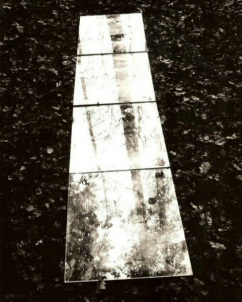 Untitled / Mirror Path by Keith Arnatt, 1968-69