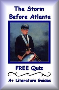 This is a free twenty question multiple choice quiz from The Storm Before Atlanta by author Karen Schwabach for chapters 1 - 6. It is a free sample from a complete Literature Guide. It is common core aligned.