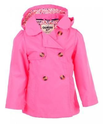 4dc626a5e Outerwear 147202  Osh Kosh B Gosh Toddler Girls Pink Lightweight ...