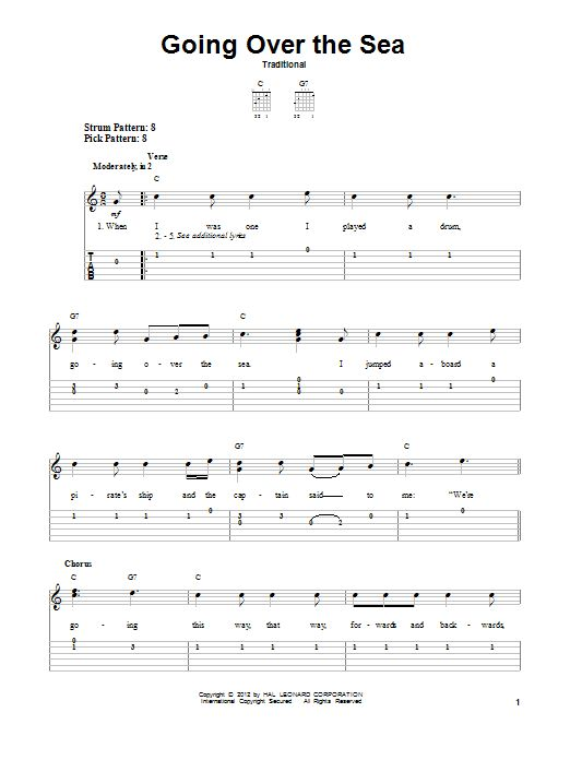 Going Over The Sea - Search Results | Sheet Music Direct