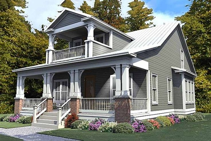 Craftsman Style House Plan - 3 Beds 3 Baths 2296 Sq/Ft Plan #63-380 Exterior - Front Elevation - Houseplans.com