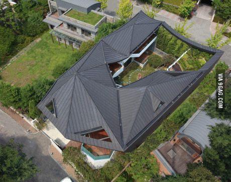 A house in suburban Tokyo.