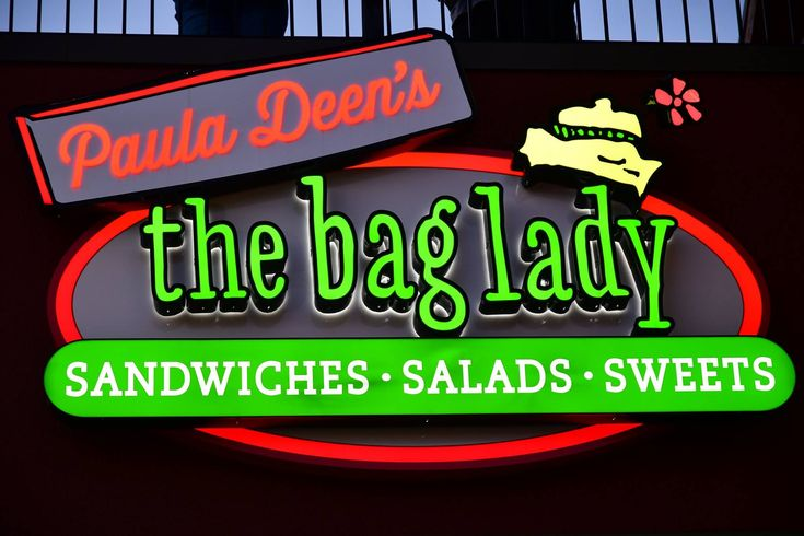 Paula Deen's The Bag Lady at The Island in Pigeon Forge offers guests a wide selection of sandwiches, salads and sweets