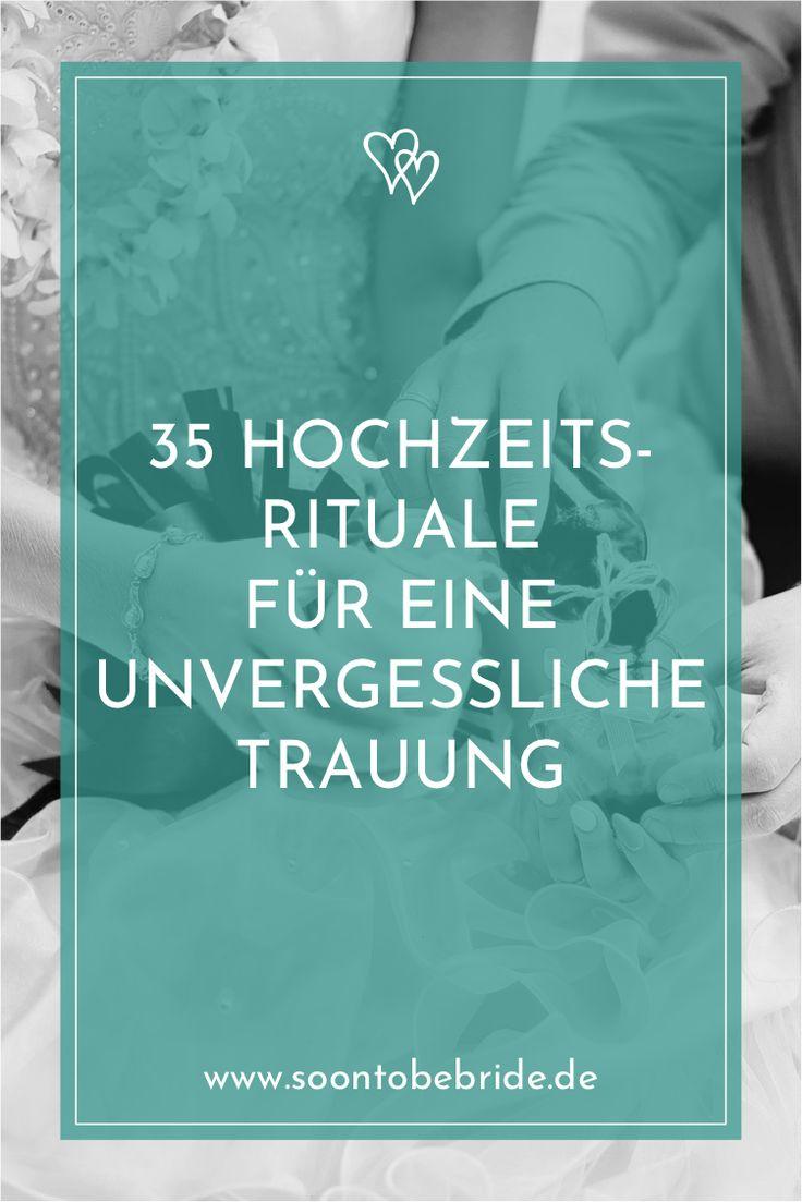 35 Hochzeitsrituale für eine unvergessliche Trauung