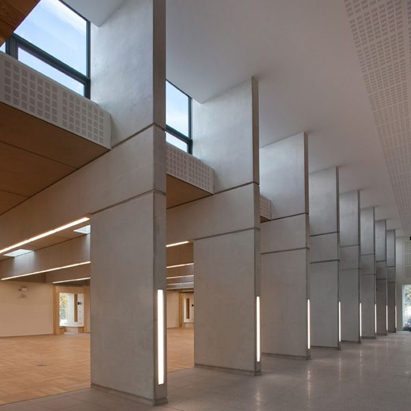 The new Library provides a rich spatial experience to users from all parts of the local community,
