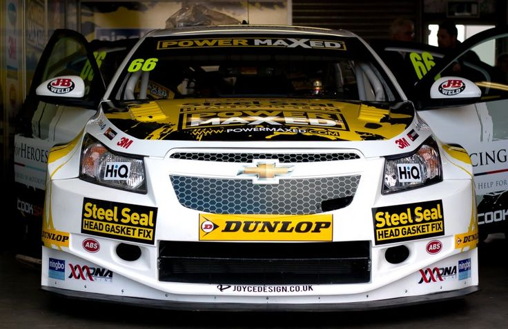 Livery for Josh Cooks' 2015 BTCC car with our logo displayed on the wing mirrors.