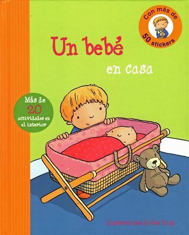 #Infantil / 0 a 3 años #PrimeraExperiencia UN BEBE EN CASA - Ronne Randall #Parragon