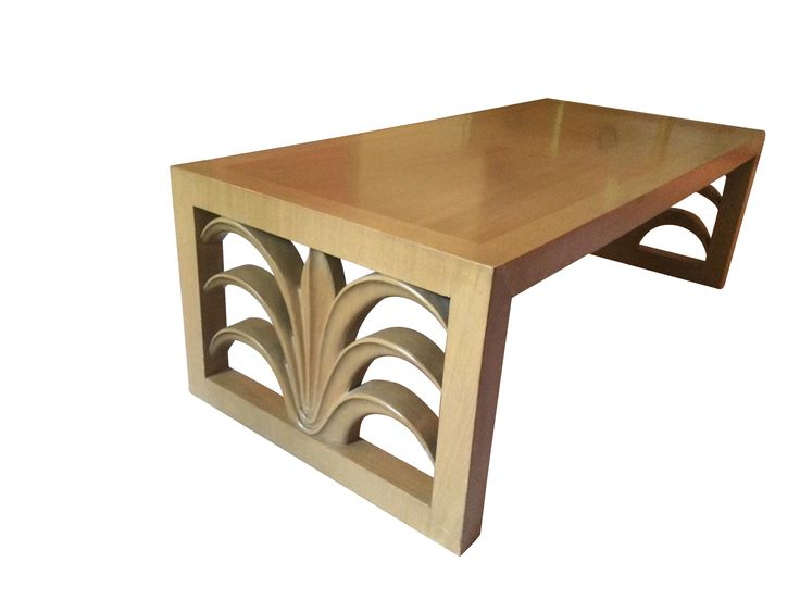 This Very Collectible Coffee Table Was Designed By T.H. Robsjohn Gibbings  For The Widdicomb Furniture Company