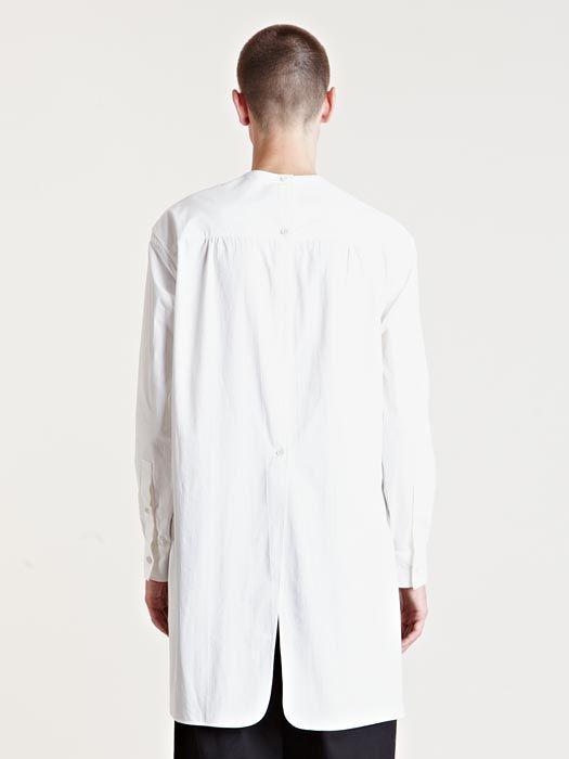 Yohji Yamamoto Men's Cotton Tunic Shirt