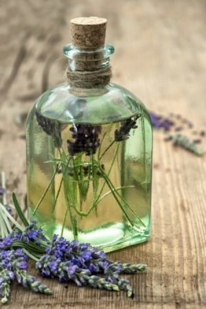 Lavender Flowers in Oil- how to preserve flowers in oil