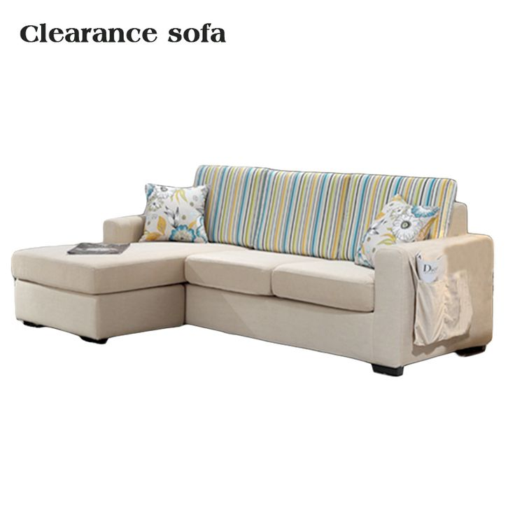 Clearance Cheap L Shape Corner Fabric Curved Sofa Part 74