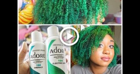 HAIR| Bleaching/Dying My Hair Green Ombre