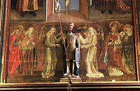 Socha sv. Václava vkatedrále sv. Víta, Václava aVojtěcha na Pražském hradě
