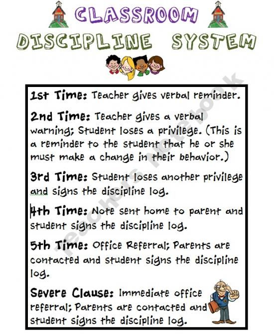 Classroom Discipline Ideas ~ Best classroom discipline ideas on pinterest