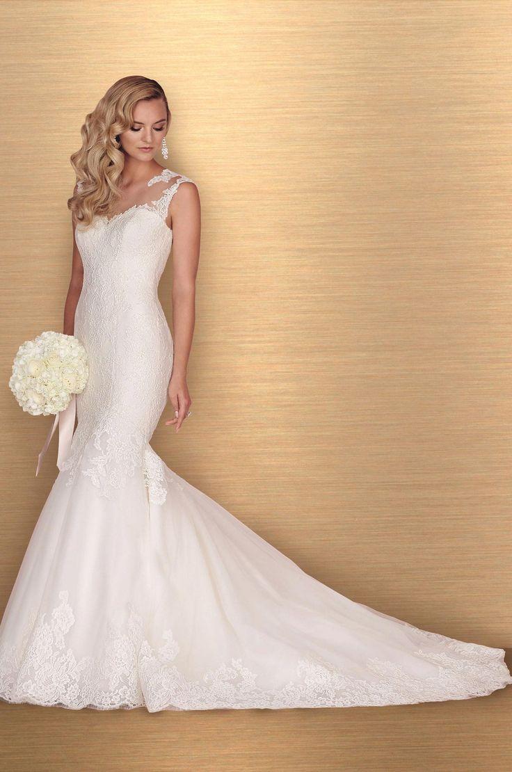 Lace Mermaid Wedding Dress - Style #4672 | Paloma Blanca