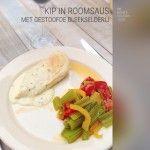 De Bonte Keuken  Kipfilet in roomkaas saus   De Bonte Keuken