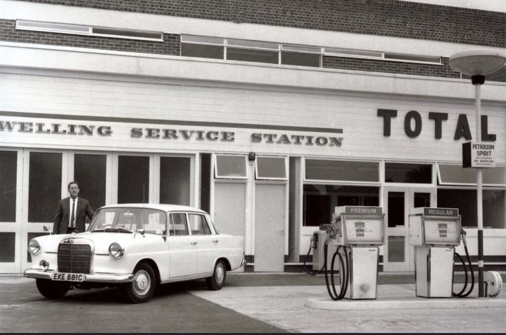 Petrol Garage In Welling, Kent. (opposite Welling United F.C)