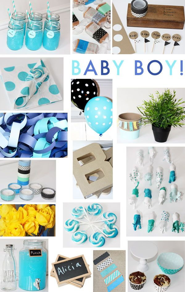 Baby Boy Blue Shower « Spearmint Baby