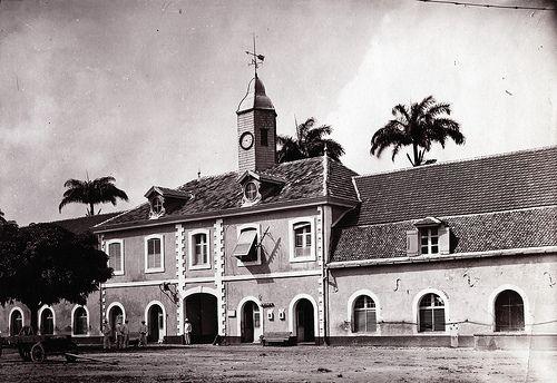 Government Building, Fort de France, Martinique, ca 1900