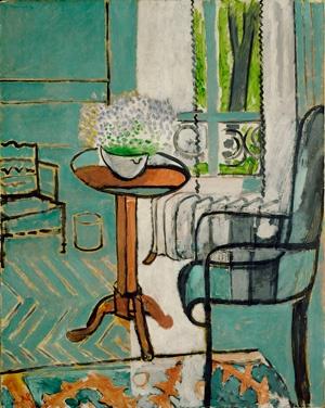 Greens, beautiful greens.  Matisse
