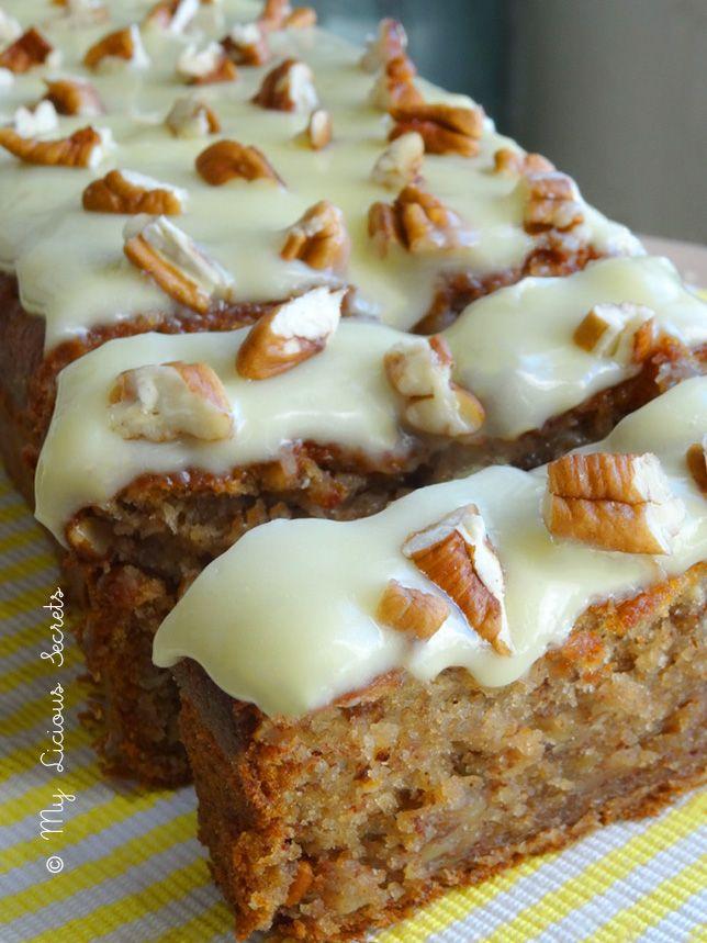 Banana bread aux noix de pécan & cannelle | My Licious Secrets