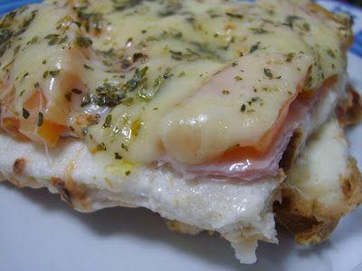 Arte na Cozinha: Sanduíche de forno - Divina Gula