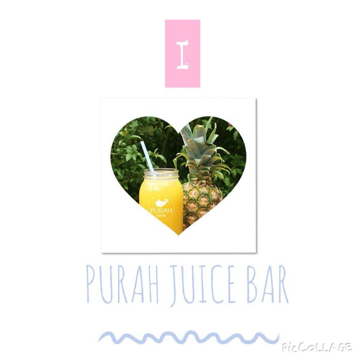 I  Purah Juice Bar