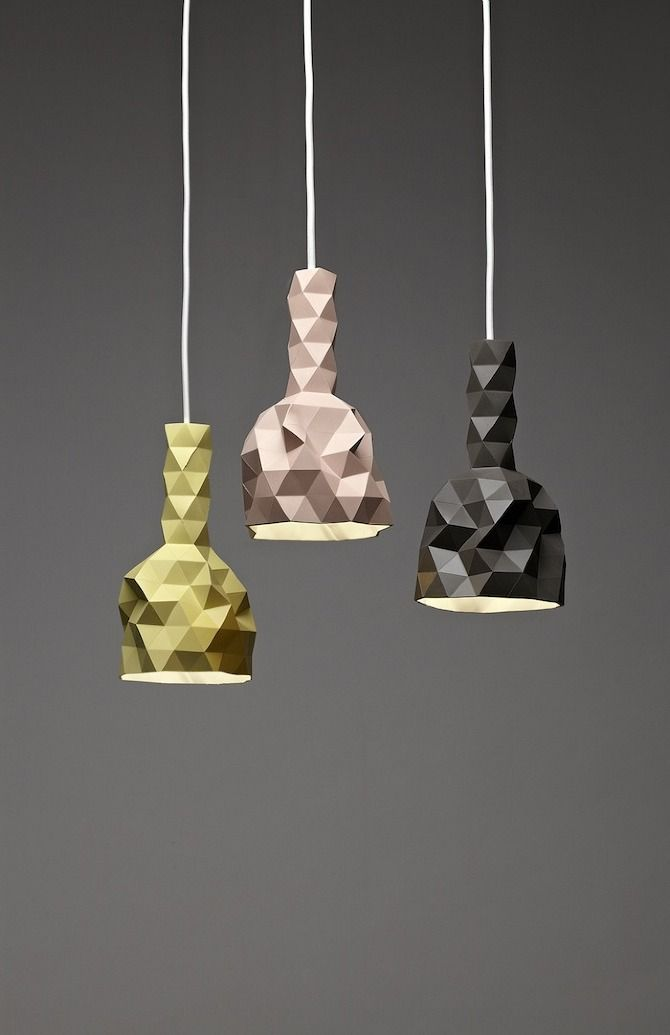 products, #lamps, #geometric, #triangle