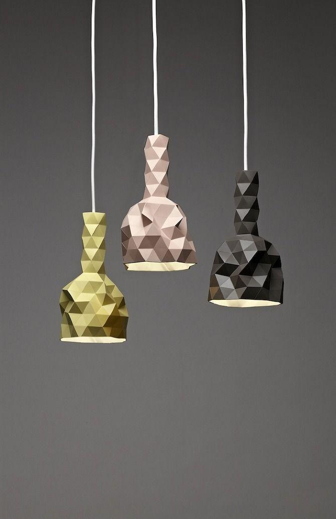 Des lampes au design estivale.