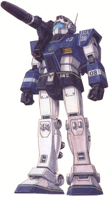 RGC-80S GM Cannon Space Assault Type (Colori Alternativi) - Federazione Terrestre (Manga: MSV-R: The Return of Johnny Ridden. MSV: Mobile Suit Variations R.)