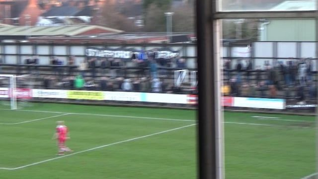 Stafford Rangers beat local rivals 2 -1 with 1826 supporting the two sides in an entertaining game stafford secured the 3 points with Nantwich to play on 2nd January