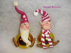 Cyri porcelana fria: Bambalinas :) (decoracion para arbolito de navidad)