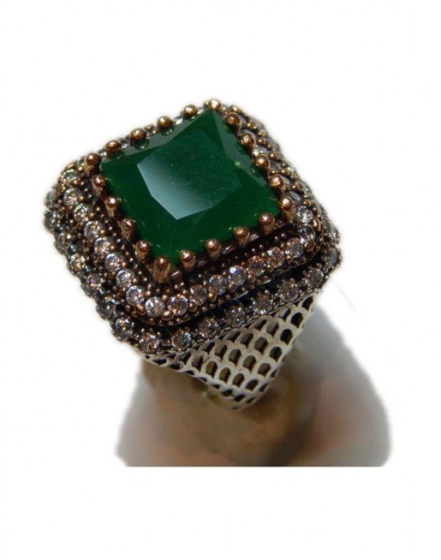 Ασημενιο Δαχτυλιδι Vintage Style : 10,2 gr   dz-11932