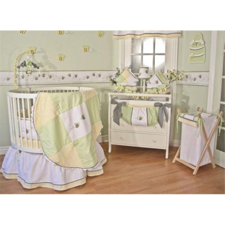 Brandee Danielle Round Flutter Bee Musical Crib Mobile - 34MBFB
