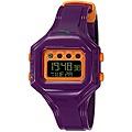 Puma Women's 'Bounce' S Purple Digital Watch | Overstock.com