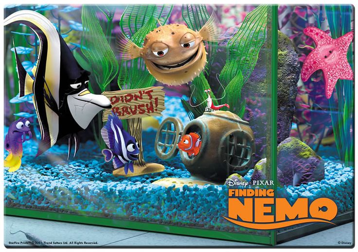 17 best ideas about finding nemo fish tank on pinterest for Finding nemo fish tank