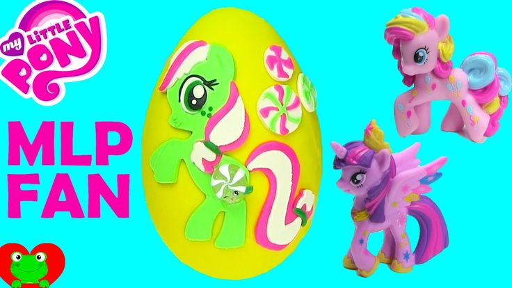My Little Pony Minty Play Doh Surprise Egg Wave 11 and Wave 12 Blind Bags