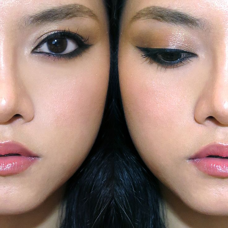 """""""Korean Eyeliner"""" look with VDL"""