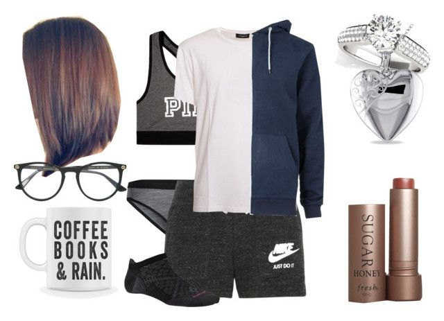"""""""Mariana Annabelle Russo Fernandez On Her Day Off"""" by shestheman01 ❤ liked on Polyvore featuring Icebreaker, NIKE, Victoria's Secret, COSTUME NATIONAL, Miadora, Topman, Fresh and Gucci"""