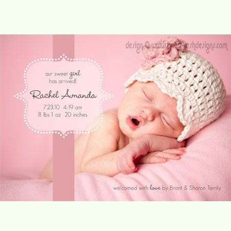 Birth announcement card  Photoshop PSD layered by babyfreshdesigns, $9.99Accesorios Fotos, Newborns Announcements, Cards Photoshop, Births Annoucement, Birth Announcement Cards, Births Announcements Cards, Birth Announcements, Photoshop Freebies, Beautiful Kids