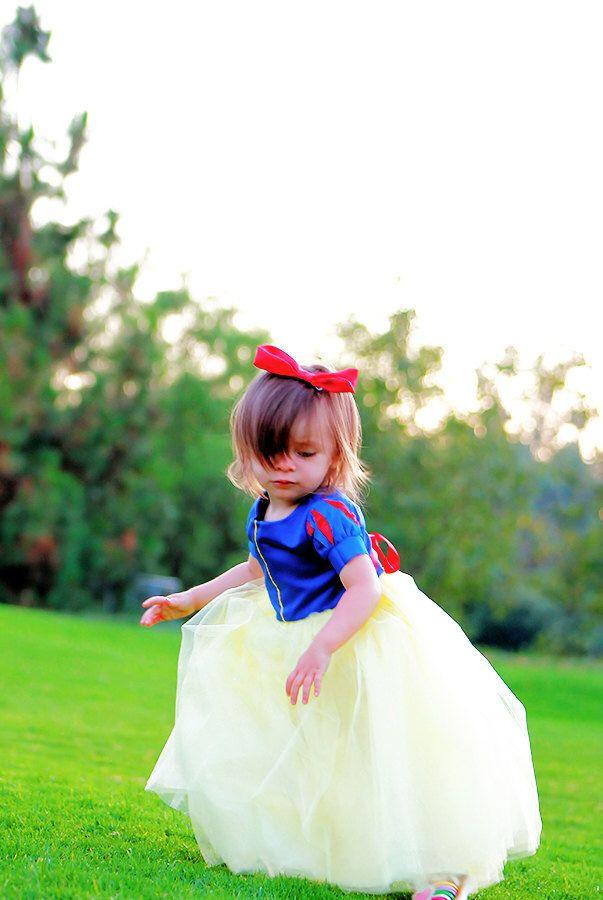 Snow White Tutu Dress with satin bodice - Snow White Dress - Snow White Costume - Girls Sizes 6 months to 8 yrs by ChloeMichellesCloset on Etsy https://www.etsy.com/listing/105474082/snow-white-tutu-dress-with-satin-bodice