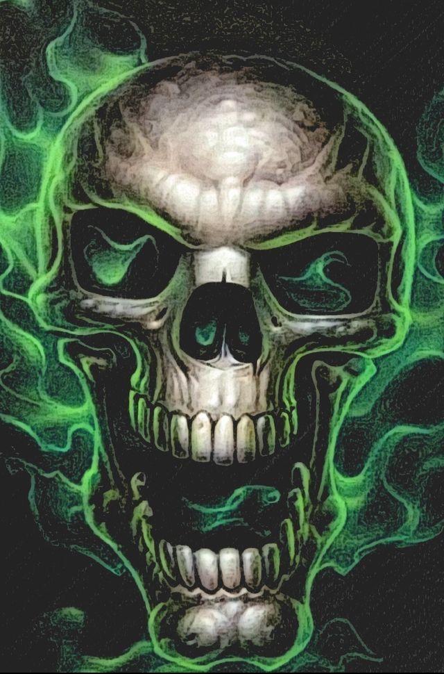 6e321206c455f Pin by Timothy Case on Skulls wallpaper in 2019 | Skull art, Skull ...