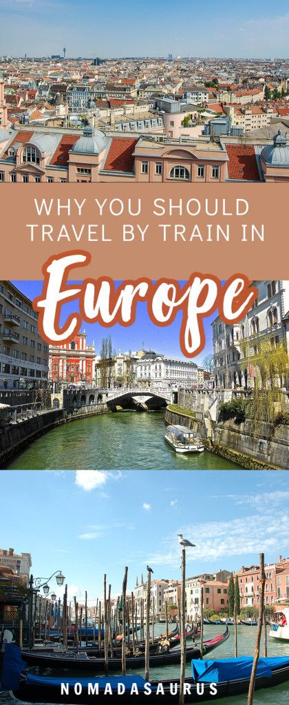 Here's why you should definitely consider traveling Europe by train over flying or driving! #europe #traintravel