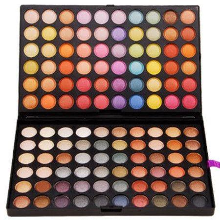 Paleta Sombras 120 cores - Modelo C