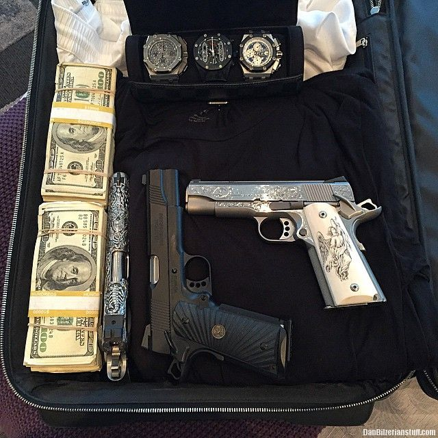 Packed for Art Basel, say what you will about my shitty clothes, my accessories are fashionable | Dan Bilzerian Stuff - Girls, Guns and Supercars