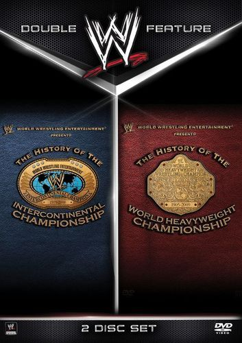 WWE: The History of the Intercontinental Championship/World Heavyweight Championship [3 Discs] [DVD]