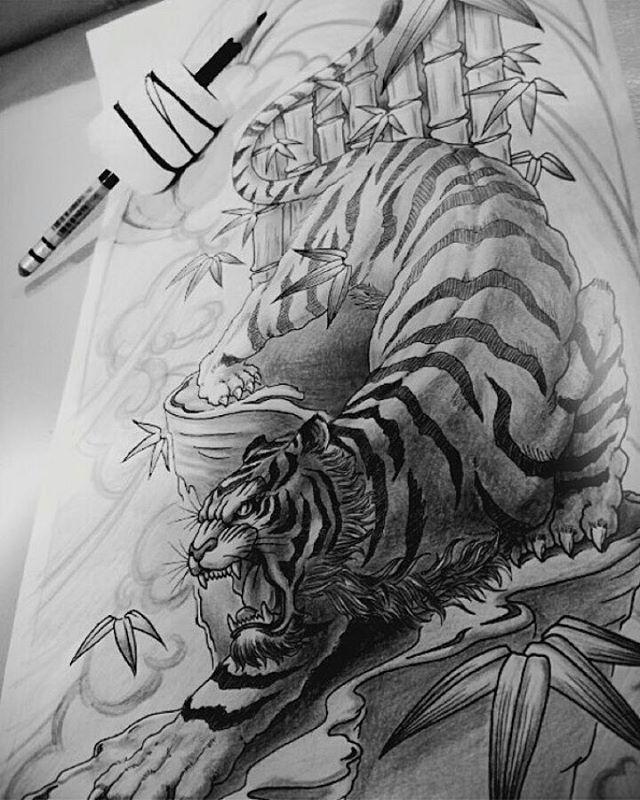 Artwork by: San Location: Markham ON, Canada Artist's IG: @san.tattoo #irezumicollective